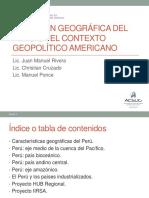 1. Situación geográfica del Perú