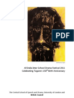 All India Inter School Drama Festival 2011 Sponsorship Prospectus