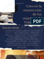 Encuentro 31 | Creo en la resurección de los muertos y la vida futura