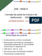 Nutrição Infantil - 0 a 2 anos - Dra. Neuma