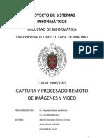 Captura y Procesado Remoto de Imagenes y Video