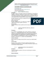 ESPECIFICACIONES TECNICAS ALCANTARILLADO-PATE