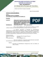 OFICIO N° 005 - PROPUESTA REDELIMITACION Y ACREDITACION YAROWILCA