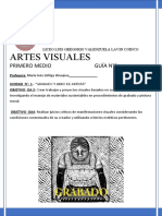 1 medio GUIA Nº 3 ARTES VISUALES COINCO