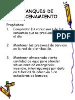 7 ESTANQUES DE ALMACENAMIENTO