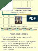 Language SocializationGenovesi