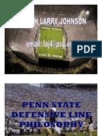 Penn State DL Philosophy