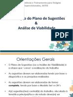Orientações para Plano de Sugestões e Análise de Viabilidade -