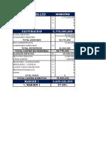 ENTREGA NUMERO costos y presupuesto