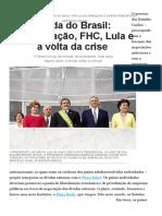 Dívida do Brasil_ renegociação, FHC, Lula e a volta da crise - Época NEGÓCIOS _ Economia
