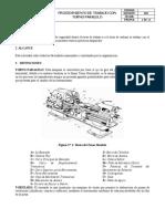 P-OM-001 PROCEDIMIENTO TRABAJOS CON TORNO PARALELO.docx