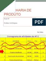 EP...2015....1º Semestre....Aula XII ..Análise morfológica.pptx
