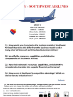 Southwest Airlines -Case Study - Questions - Group 4 -.pptx