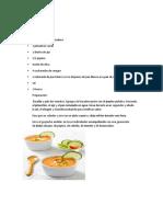 recetas cocina española (Sonia Isabel Florez Coronell)