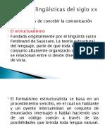 corientes linguisticas siglo XX modi