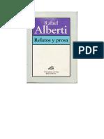 Relatos y prosa - Rafael Alberti