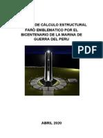 MEMORIA DE CÁLCULO ESTRUCTURAL - FARO