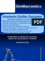 Clase 1 - Introduccion a la Biomecanica