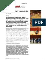 Cronica de Vivir Digital Partido Elda Elche 12 01 2011