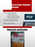 Bromatologia 2-acidez e pH.ppsx