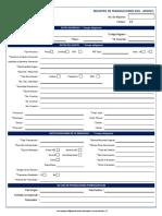 Formularios Registro ROS - APNFDS