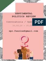 Fanzine_Sentimental_politics_review