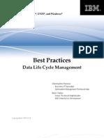 DB2BP Data Life Cycle 1009I