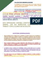 CONCEPTUALIZACION,METODOLOGIA DE LA AUDITORIA.
