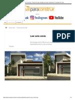 Proyecto de casa con terraza - Planos de Casas, Modelos de Casas e Mansiones e Fachadas de Casas
