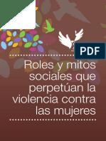 11. Roles  y mitos que perpetúan la violencia
