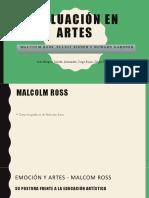 Evaluación en Artes Malcolm Ross, Elliot Eisner y Howard Gardner