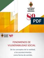 Fenómenos de vulnerabilidad social