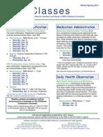 CCC Newsletter (Winter-Spring 2011)