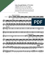 Reicha, A. 5teto op.91 n.1 in C M parte de clarinete Bb