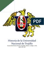 Historia de la Universidad Nacional de Trujillo