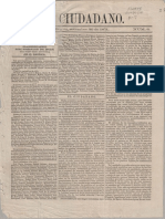 El ciudadano, 1871 Periodico