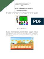 Actividades para los diferentes niveles del lenguaje