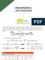 Clase termodinámica uts