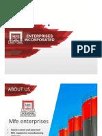 MFE Introduction PDF