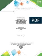 ACTIVIDAD 3 REALIZAR HIPOTESIS DEL PROBLEMA CONTAMINACION DEL SUELO