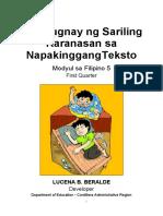 Filipino Modyul Filipino- Week 1 Quarter 1