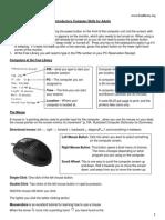 Free Library of Philadelphia - Basic PC Skills Handout
