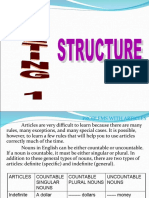 MEETING  1 STRUCTURE