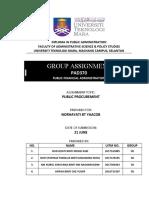 Assignment 2 Public Procurement.docx