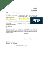 Anexo Nº 05 Modelo de Cartas de Comunicación deficiencias de SSO (3) - copia