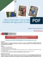 3-NORMATIVA VIGILANCIA DE LA CALIDAD DEL AGUA PARA CONSUMO HUMANO