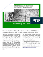 MESH Blog Archive