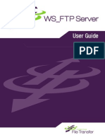 WS FTP Server User Guide