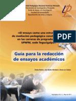 3. Guía para la redacción de ensayos académicos