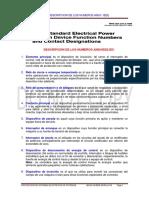 03  CODIGOS ANSI - IEEE - IEC    PROTECCION DE SEP